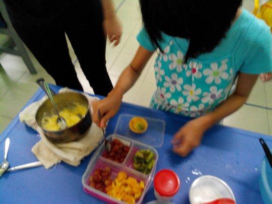 SAP making fruit tarts