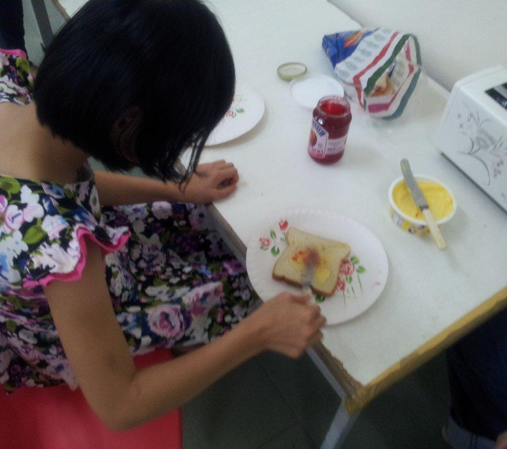 SAP making a sandwich