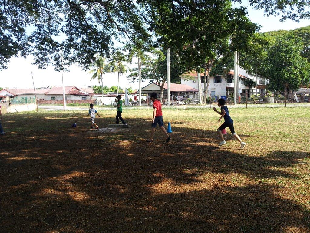 SAP playing football