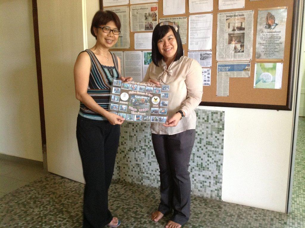 Thank you card to Philea Resort Melaka