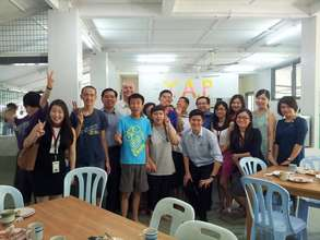 Visit from OCBC staff