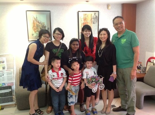 With our Chairman, Mr Chee Kong Chi