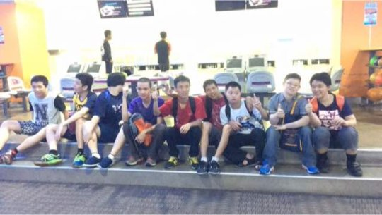 YAP outing to the bowling alley