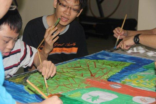YAP art & craft activity
