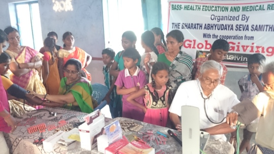 Health Program in a slum village