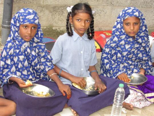 Lunch in school for all children