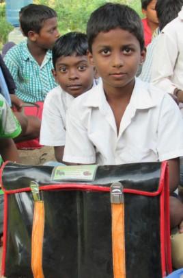 A boy from school