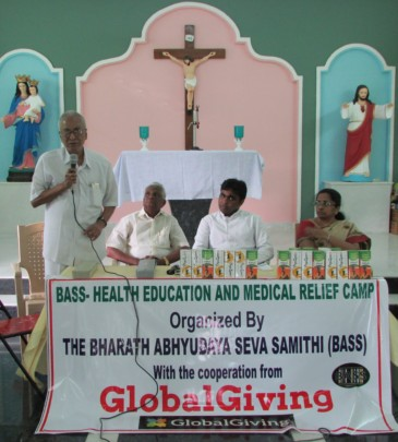 Health awareness and medical relief program