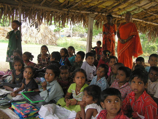 Children in Dasaripalem School