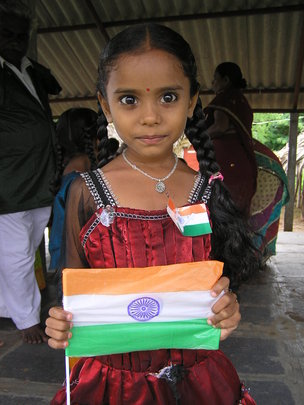 Independence Day program in a school
