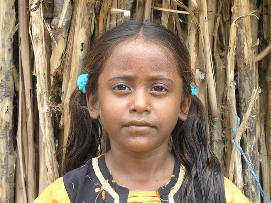 Rekha, one of our children in this project