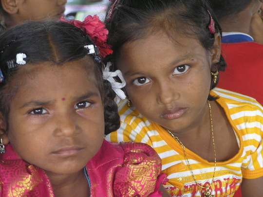 Girls in Dasaripalem centre