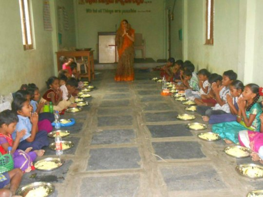 BASS Ligayapalem School children