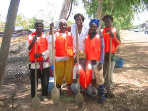 TRY oyster women with new life jackets
