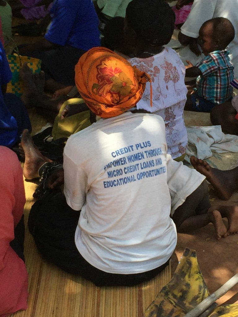 community meeting with WGEF and clients...