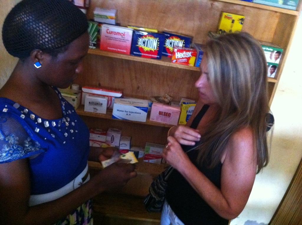 Beatrice, Drug Shop owner