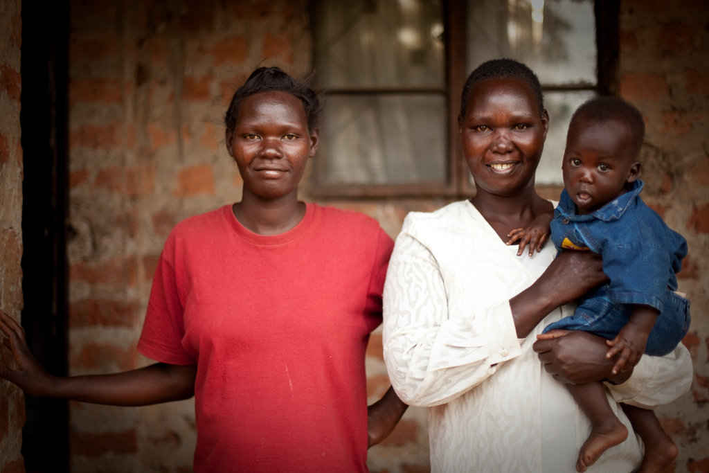 A family recovering and rebuilding their lives after horrific violene and brutality. The daughter was abducted for 10 years, after escaping with her child and a bullet lodged in her body, she made it home. Her mother, WGEF client, is able to care for her and is now paying school fees for grandson.
