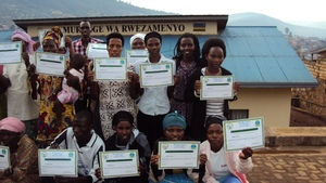 After all had received their certificates