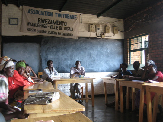 2011 Students and teachers in classroom