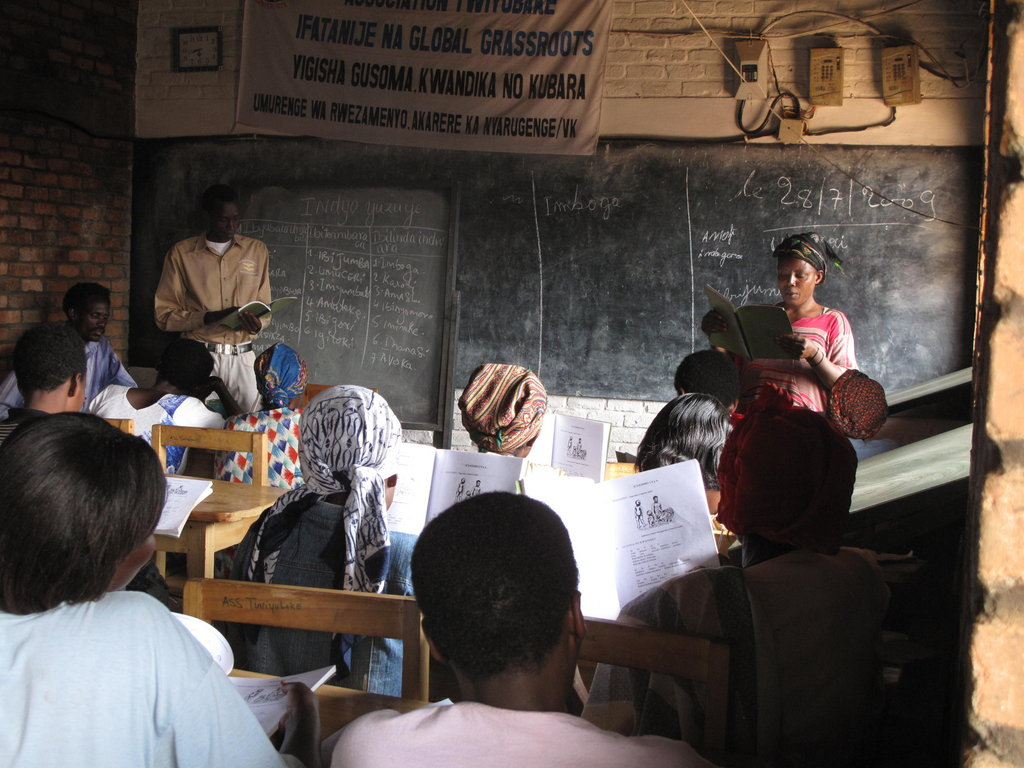 Teach 30 Rwandan Women to Read, Write & Calculate