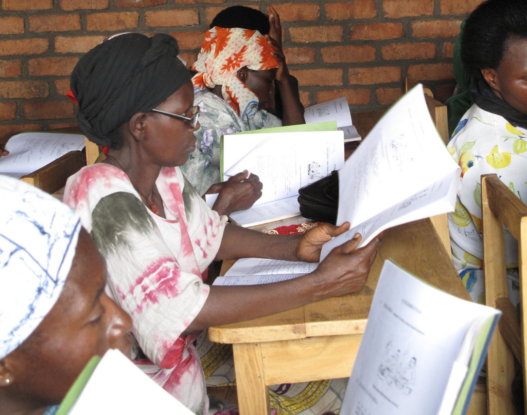 Teach 30 Rwandan Women to Read, Write & Calculate