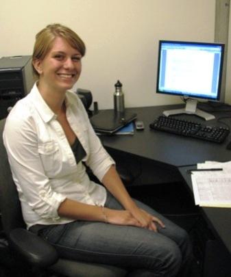 Thea's Internship in 2009