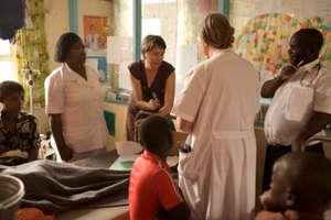 Palliative care team at the hospital