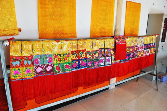 Embroideries made by Local Women