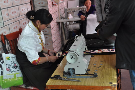 Income-Generating Project for Tibetan Craftswomen