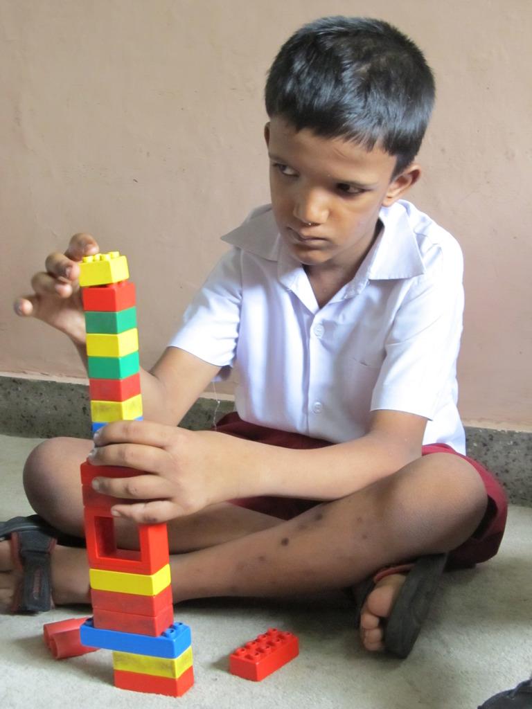 Activity time at SAMADHAN School