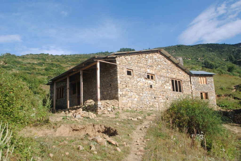 Bargaun Birthing Centre - near completion