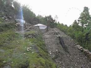 Kaskikot WASH under construction. (PDF)