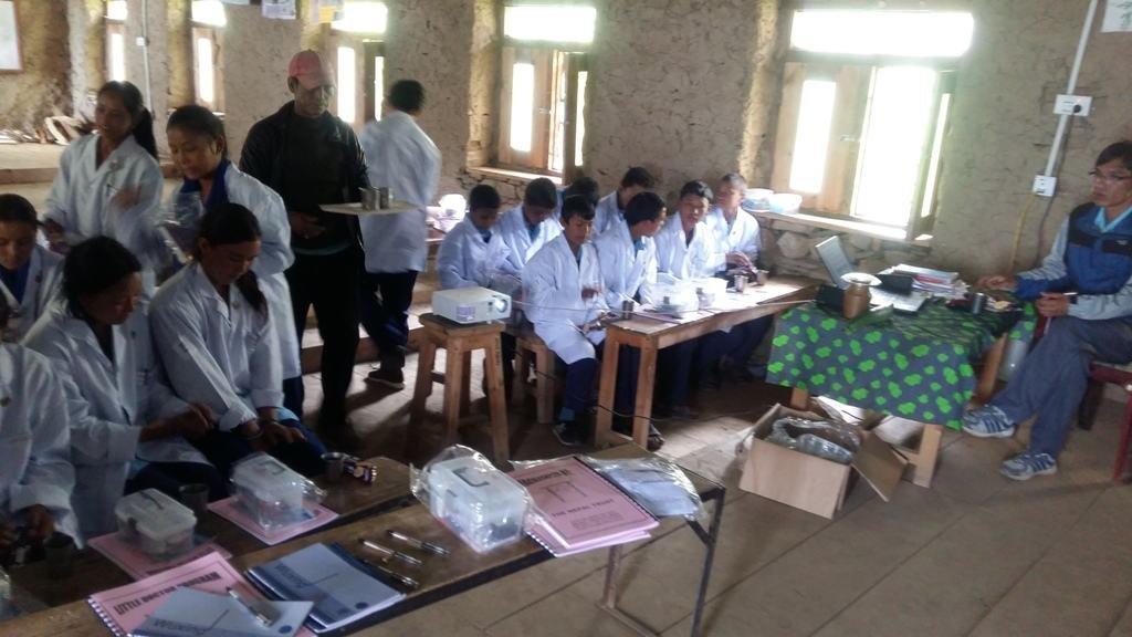 Little Doctors Class Mansarovar Sec. School