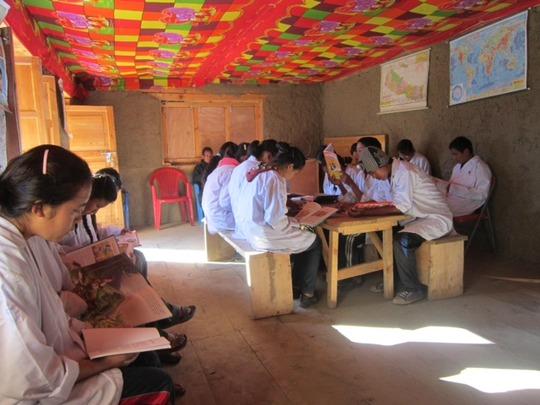 A class of Little Doctors
