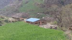 Maspur clinic under construction.