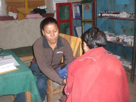 Health Worker ANM Jaya Devi