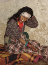 A local patient in Sakegad
