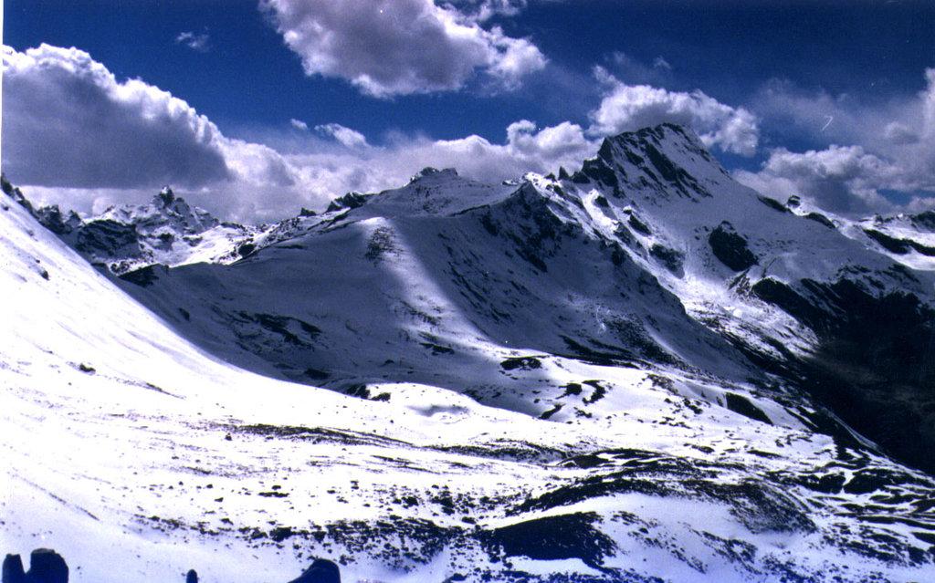 The Nyalu pass towards Limi valley