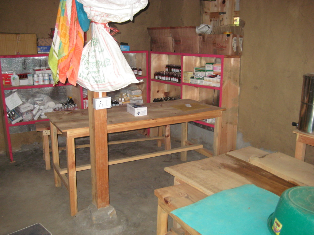 Inside of Torpa clinic