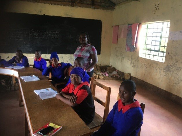 Pupils at Athi Special School