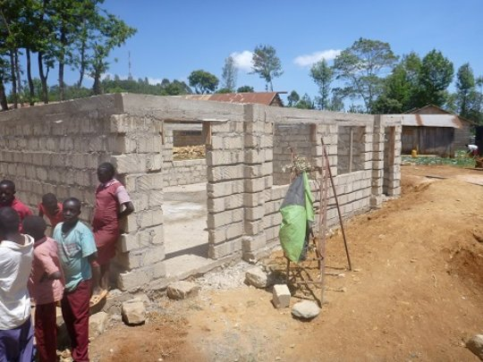 Athi new classrooms rising