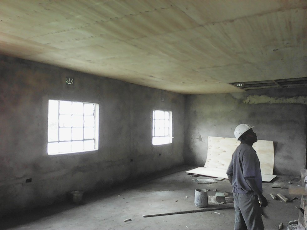 Athi therapy room progress