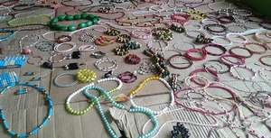 Beautiful Bead Jewellery made by the Youngsters