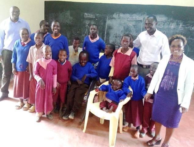 Athi School Children and Staff