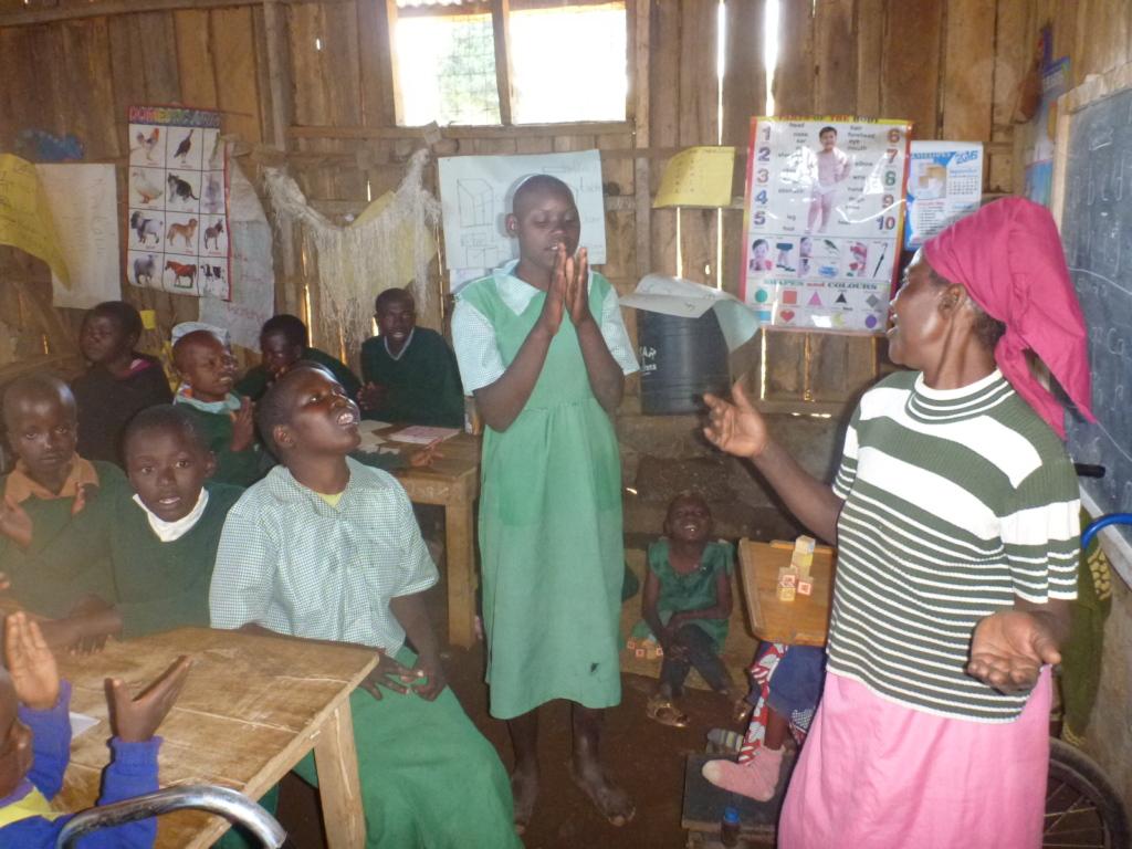 Children in Irindiro classroom