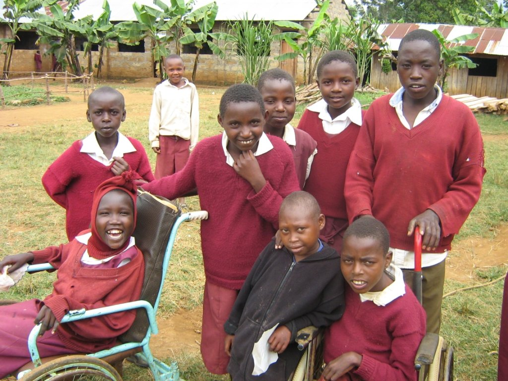 Help Kenyan children with disabilities into school