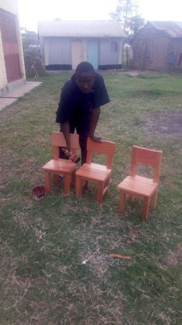 Some small chairs for little people