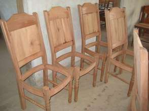 Dining Chairs under construction