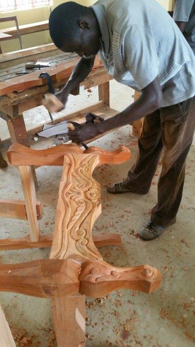 Gabriel carving