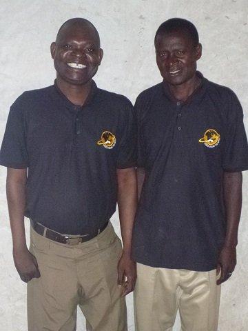 Ouma and Paul - all smiles!